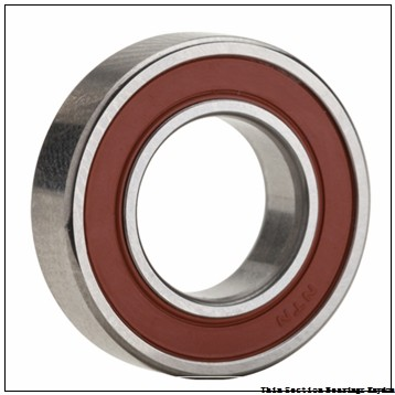 CONSOLIDATED BEARING WC88500  Single Row Ball Bearings