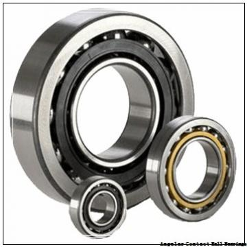 5.5 Inch | 139.7 Millimeter x 7.5 Inch | 190.5 Millimeter x 1 Inch | 25.4 Millimeter  RBC BEARINGS KG055AR0  Angular Contact Ball Bearings