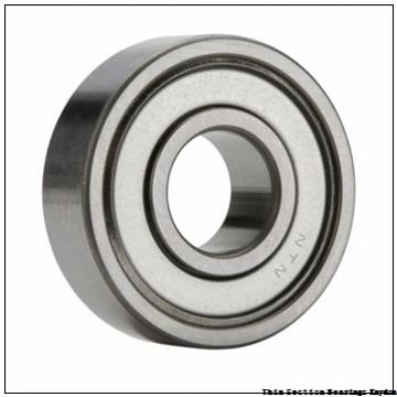 RHP BEARING R4-2RS  Single Row Ball Bearings